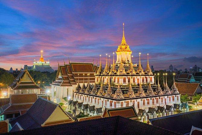 Glittering Night : Bangkok Skyline Experience with Neon Light