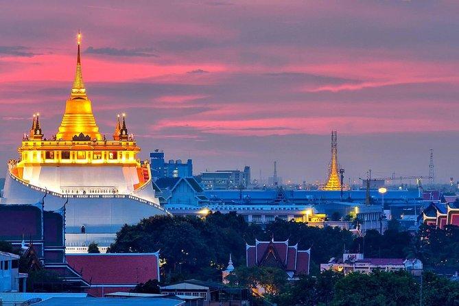 Glittering Bangkok Skyline Experience with Neon Light