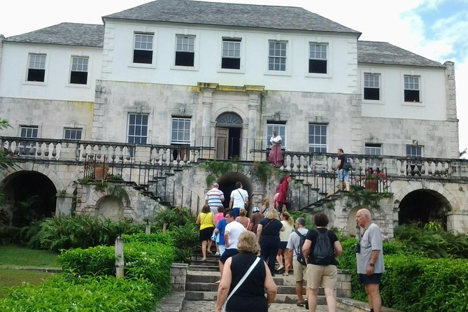 Rose Hall Great House, Bob Marley Nine Mile and Luminous Lagoon from Montego Bay