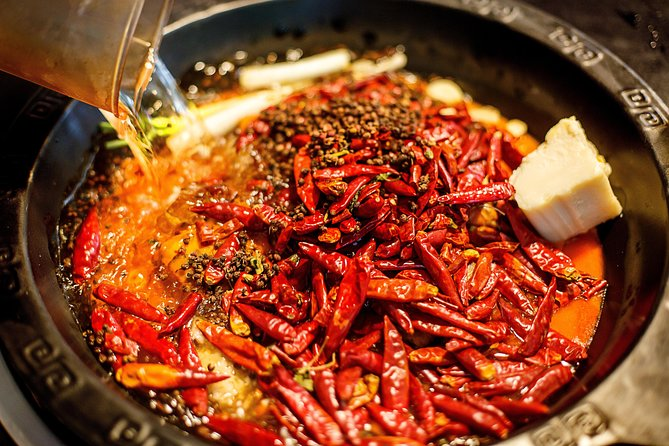 Half-Day Private Sichuan Hot-Pot Cooking Class with Local Spice Market Visit