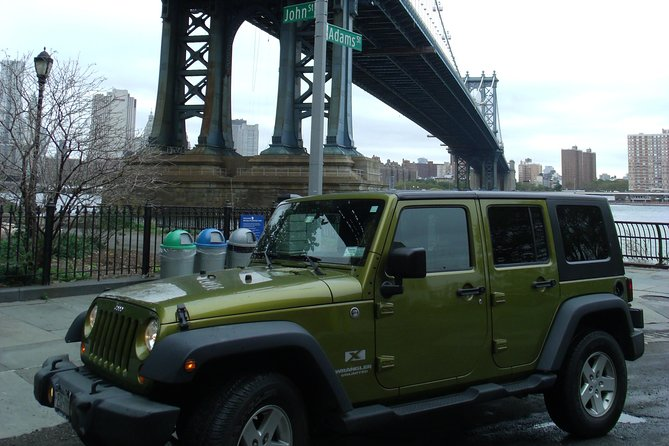 New York City Private Manhattan Tour by Jeep SUV with a local guide
