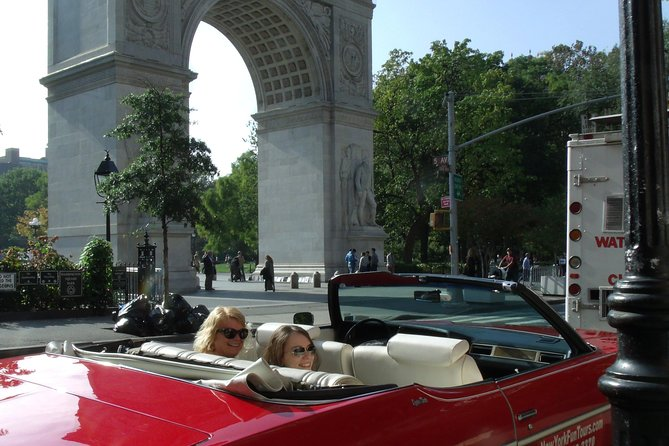Privat New York City Tour med Classic Convertible
