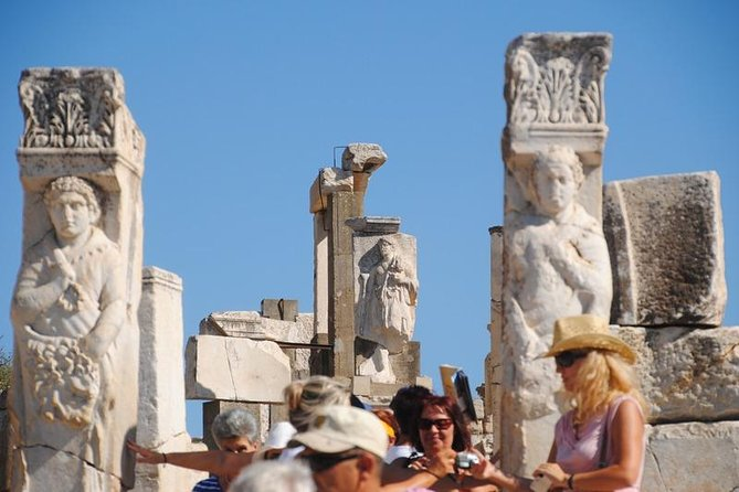 Small Group Tour from Kusadasi Port to Ephesus Ancient City, Temple of Artemis