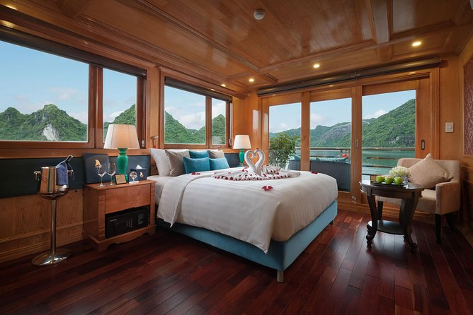 Maya Cruise - Halong Bay and Lan Ha Bay - 3 days 2 nights on cruise