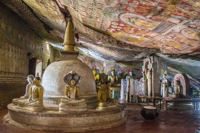 Full Day Tour to Dambulla Cave Temple and Sigiriya Rock Fortress From Kandy.