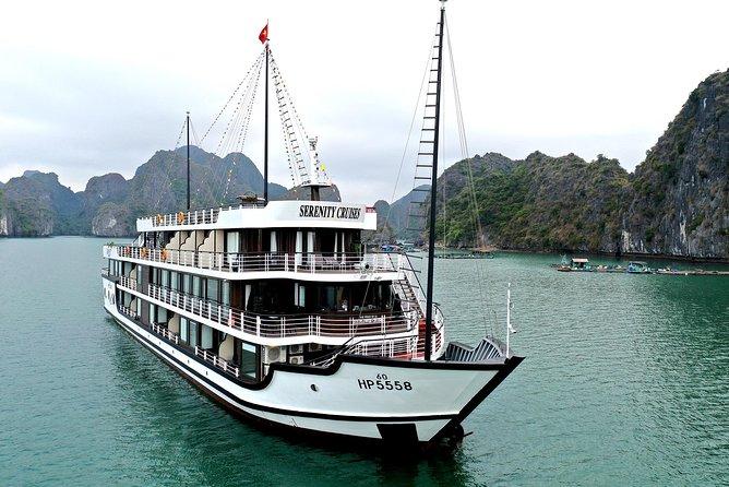 Serenity Cruise -Luxury Overnight Cruise 2 Days 1 Night -Tour from Tuan Chau