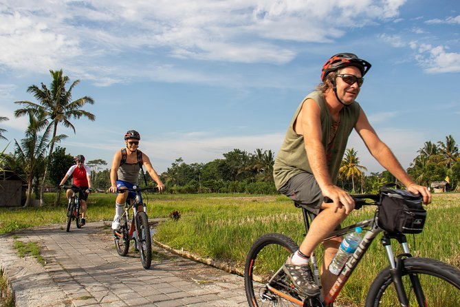 Advanced Cycling Adventure above Ubud: Jungle Trek/Bali Waterfall/Hidden Canyon