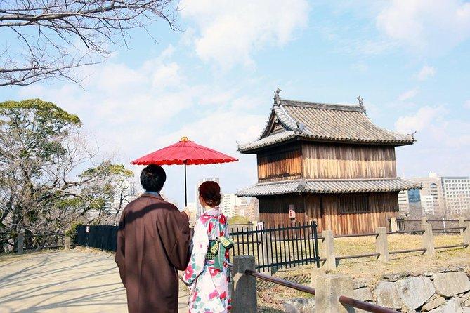 Shakyo(Transcribing a sutra) & Kimono Experience