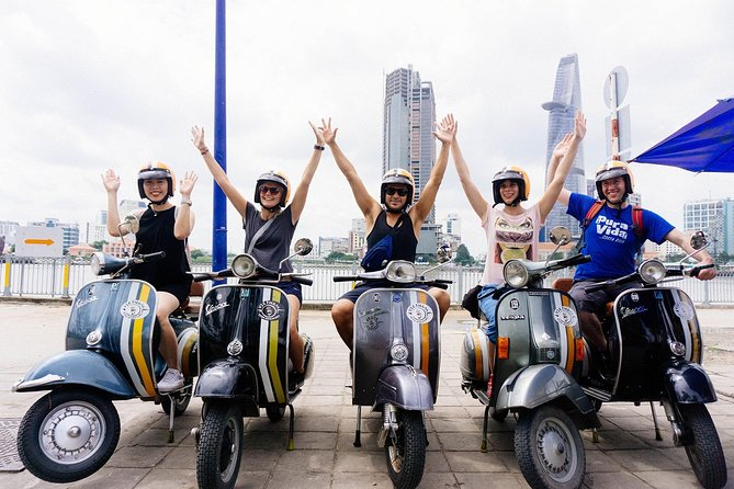 Private Cu Chi Speed Boat - Sai Gon Vespa Tour