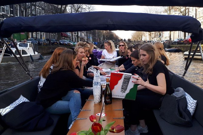 The Pizzaboat Amsterdam Min. 8 pax