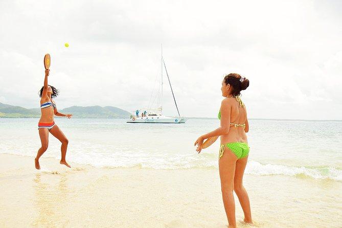 Oceane Full Day Shared Catamaran Cruise to Ile aux Cerfs