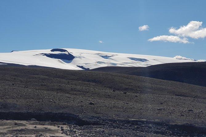 Borgarfjordur and Langjökull glacier- private tour