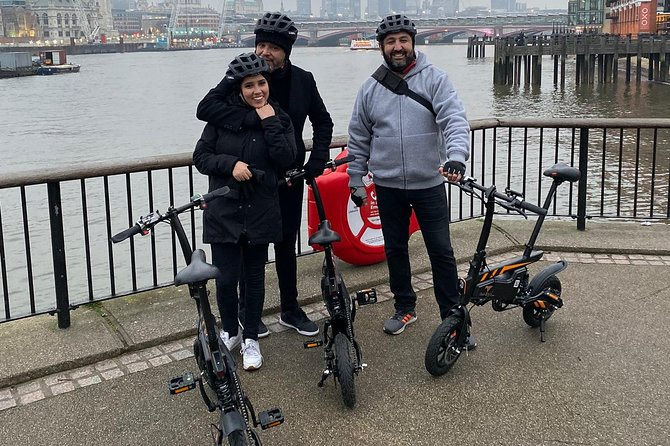 London Electric Bike Tour or E-bike Tour
