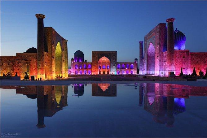 Samarkand Night City