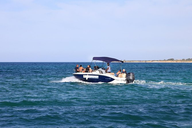 Boat and rubber dinghy rental