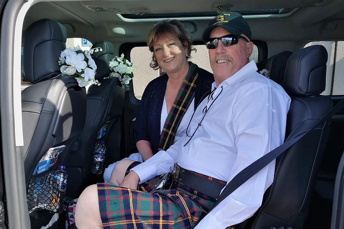 Scottish Highlands Marriage Blessing and Hand-fasting Ceremony, Kilt included