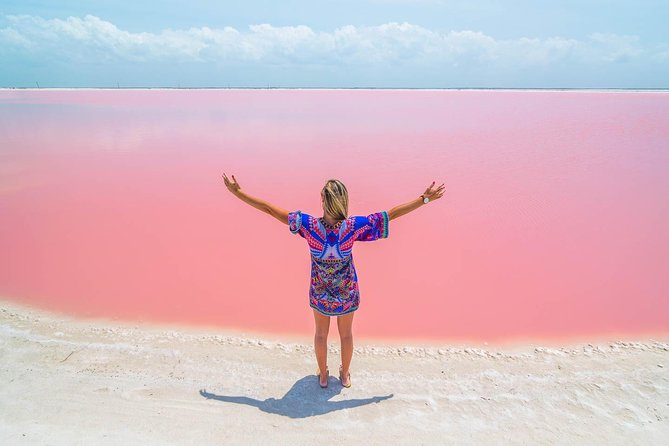 Discover the FABULOUS PINK WATERS at the Caribean (Las Coloradas+Río Lagartos)