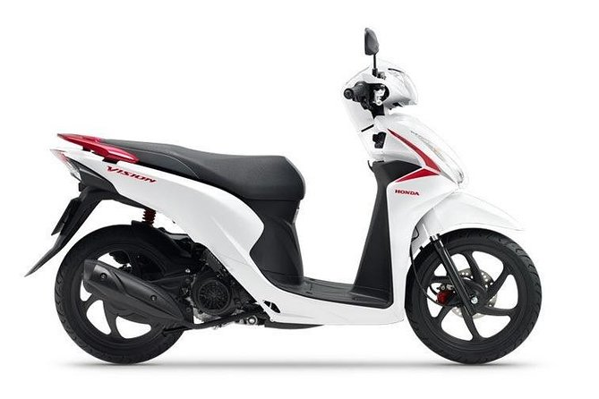 New Honda Vision 2020 for rent