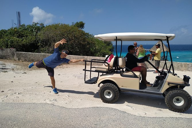 Isla Mujeres with a Golf Cart