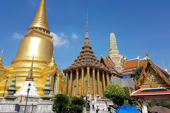Bangkok Temple Tour (with admission tickets): Grand Palace, Wat Pho, Wat Arun