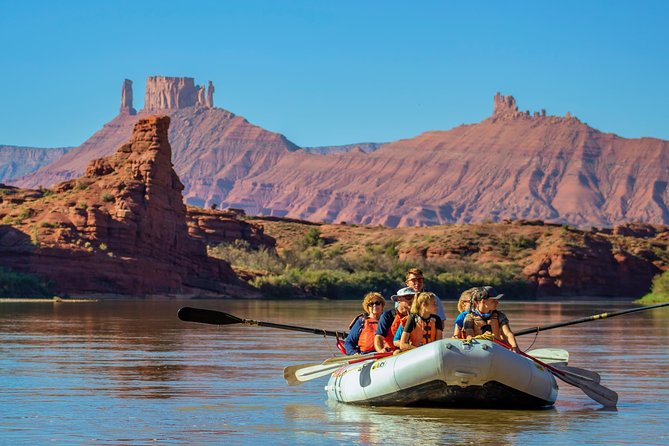 Moab Rafting Full Day Colorado River Trip