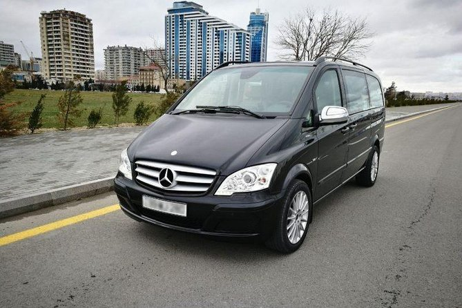 Airport transfer with Mercedes Viano (1-7 passengers)