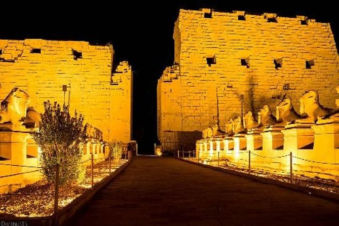 Luxor: Sound & Light Show at Luxor & Karnak Temples