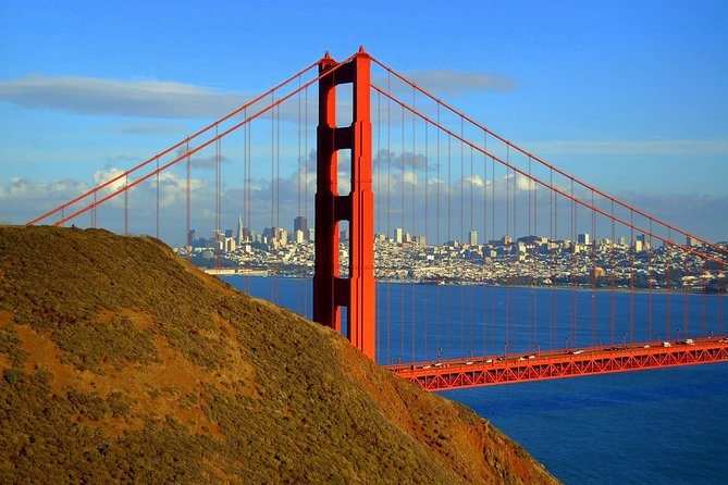 Hike from above to below the iconic Golden Gate