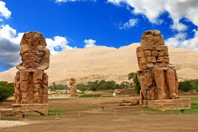 Full Day Tour to Luxor, Camel Ride, Sailing Felucca from Cairo with Flight