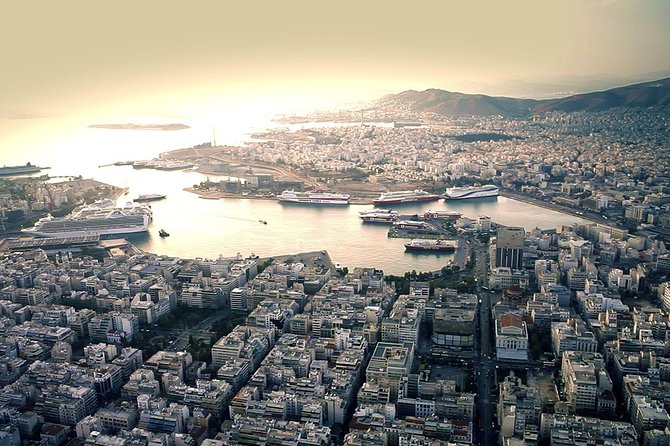 Athens center to Pireaus port