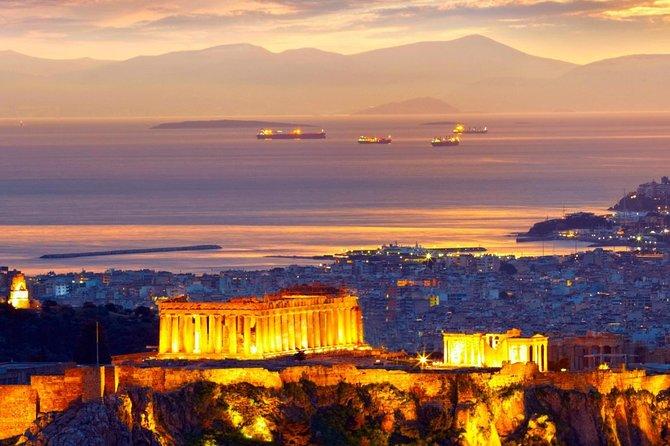 Pireaus port to Athens center