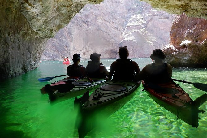 Colorado River Half Day Kayaking to Emerald Cave from Las Vegas
