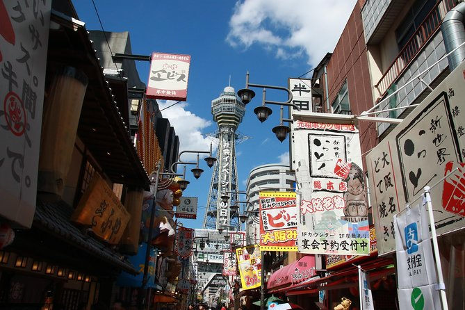 Osaka Guide Tour (Kushikatu, Takoyaki)