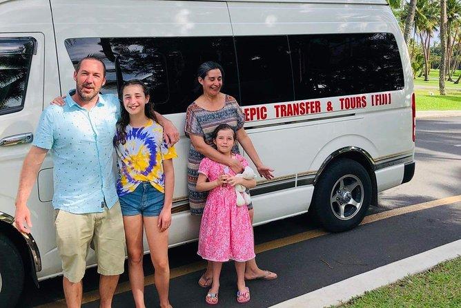 Roundtrip Transfer - Nadi Airport to Shangri-la Fijian Resort