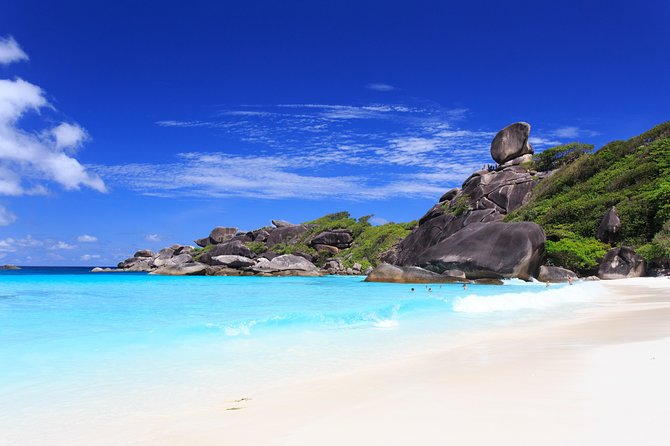 From Phuket or Khaolak: Similan Islands Full-Day Boat Trip