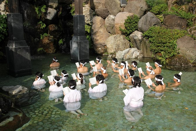 Purification Ceremony at the Shirayama Hime Shrine in the Sacred Mountain