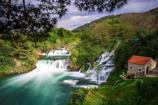 Private Krka waterfalls & Trogir old town