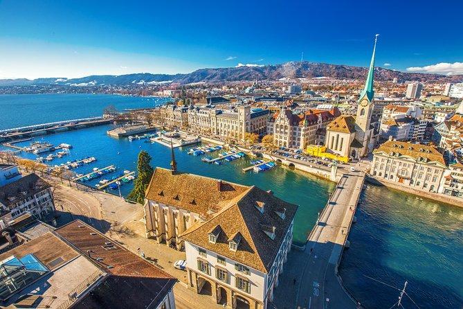 Zurich 2,5 hour walking tour