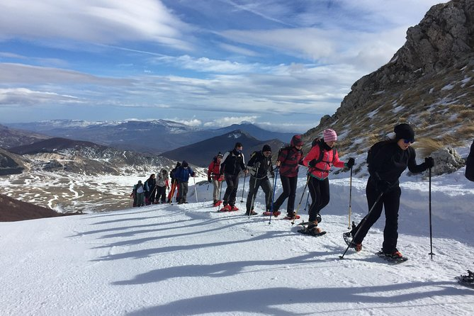 Abruzzo National Park: Snowshoe hike to Monte Greco