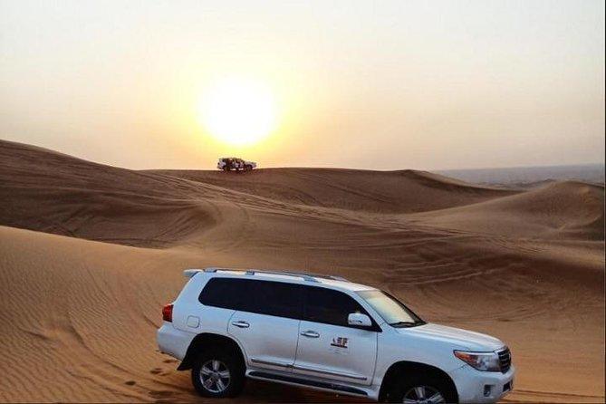 Evening Desert Safari Dubai With Dinner Buffet: Private Vehicle