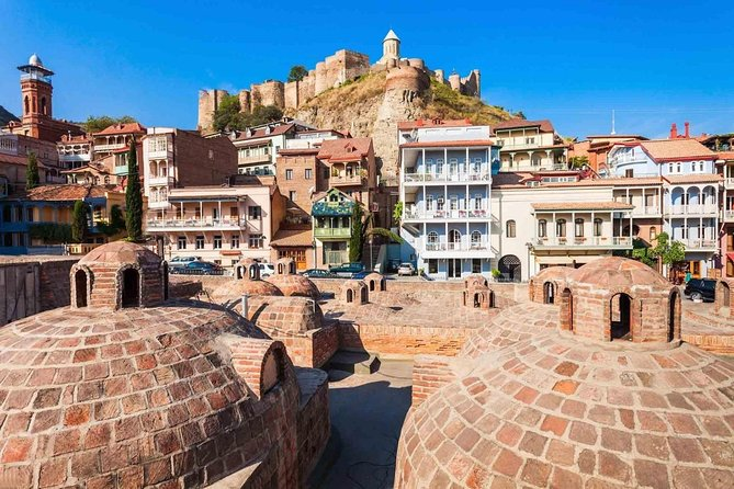 Tbilisi walking tour with cable car and wine tasting