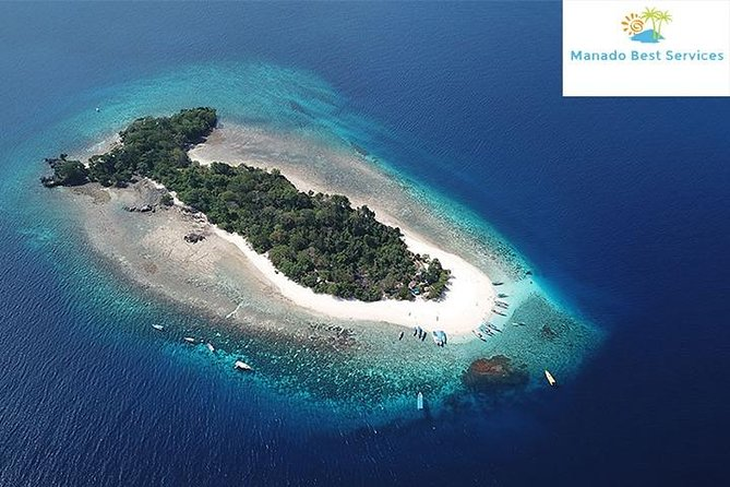 Lihaga Island (white sand island) swimming twice, including lunch and tickets