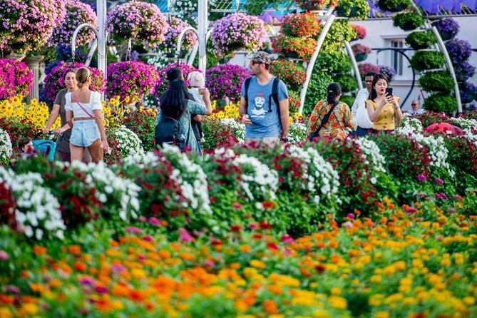 Miracle Garden and Global Village COMBO tour with round trip transfers