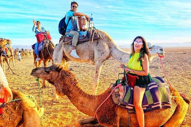 Day Trip to Desert Agafay & Atlas Mountains & Waterfalls & Camel ride -Marrakech