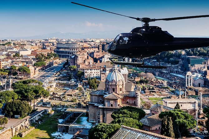 Helicopter Tour above Rome 4/5 pax