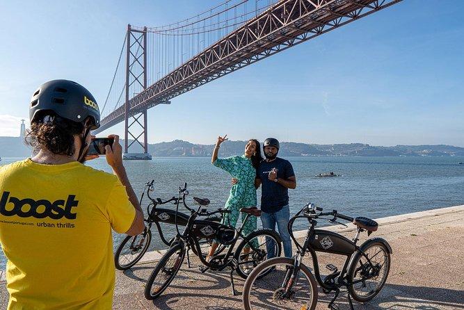 Lisbon: 3h Belém by the Riverside e-Bike Tour