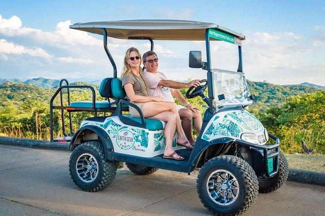 4 Seat Golf Cart Rental - Tamarindo, Pinilla, Conchal, Grande w/ Delivery!
