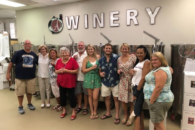 The Tour and Wine Tasting Experience at Aspirations Winery