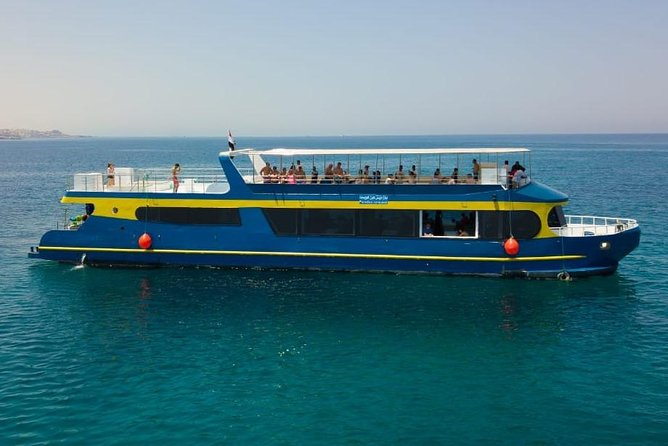 Paradise Conquest Semi Submarine & snorkeling Sea Trip - Hurghada