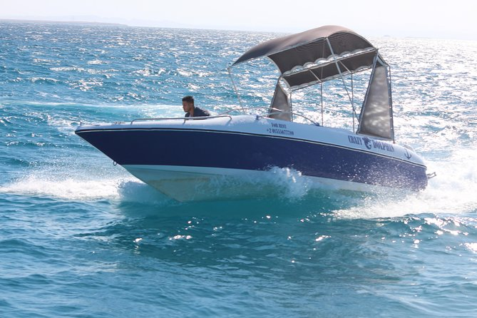 2 Hours Private Speed Boat & Snorkeling - Hurghada